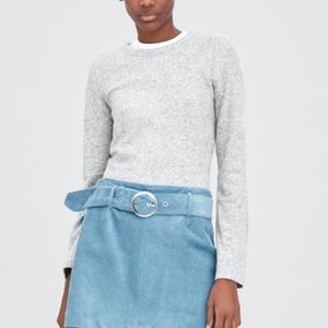 Zara Sweaters - ZARA SOFT FEEL GREY SWEATSHIRT
